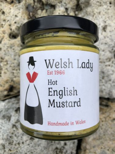 Welsh Lady Hot English Mustard